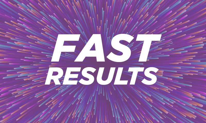 fast covid testing results